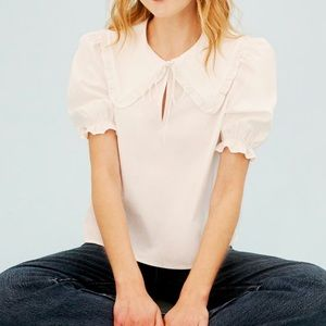 Reformation NWT White Lodge Top - S